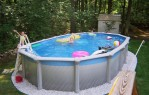 16x32 Oval Above Ground Pool