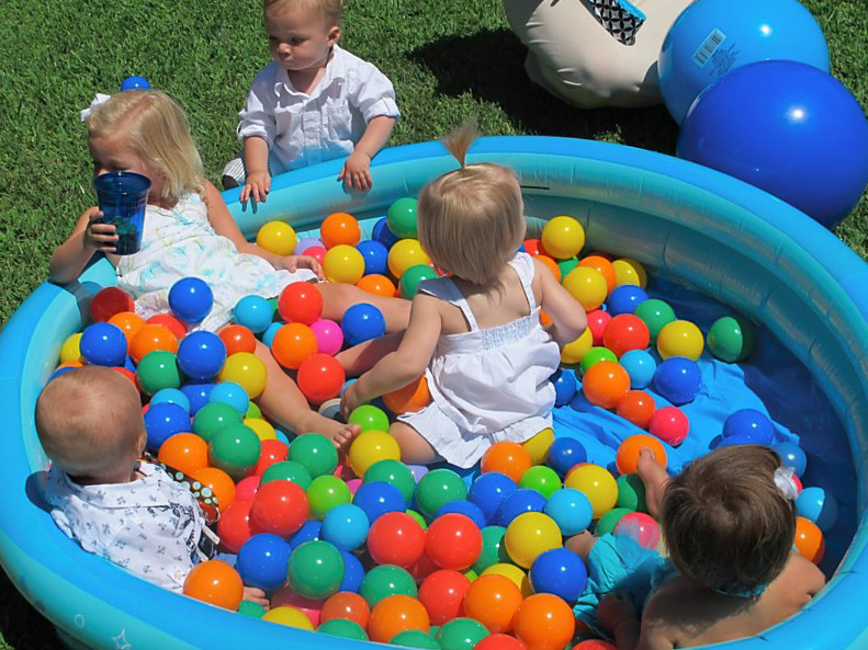 1st Birthday Pool Party Ideas