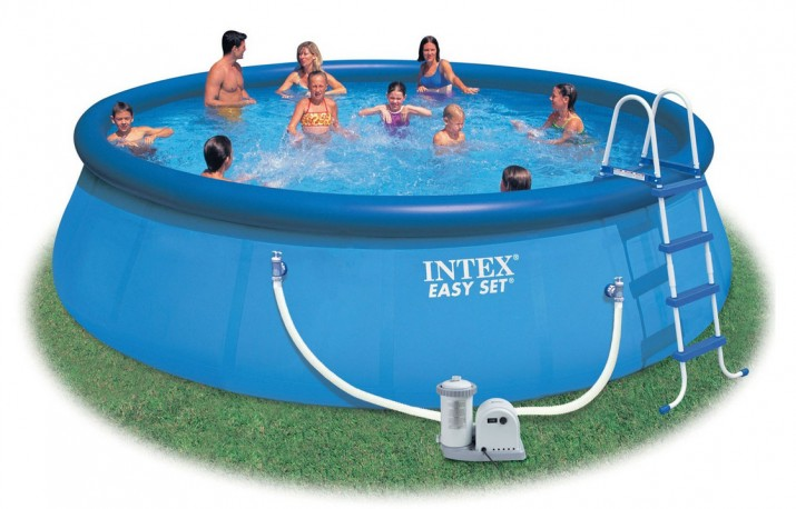 Home pool design ideas part 3 for Inflatable above ground pools