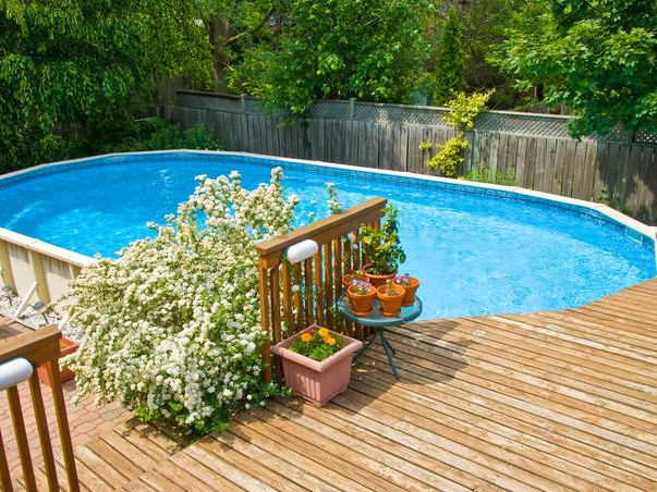Above Ground Oval Pools With Decks
