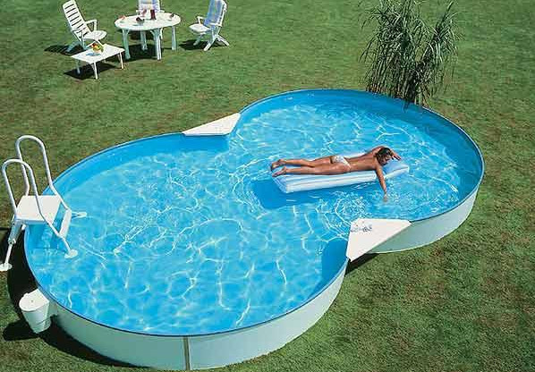 Above Ground Oval Swimming Pools