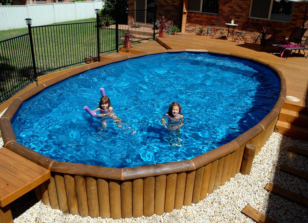 Above ground pool and deck ideas pool design ideas for Ideas for a pool