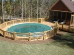 Above Ground Pool Deck Ideas Pictures