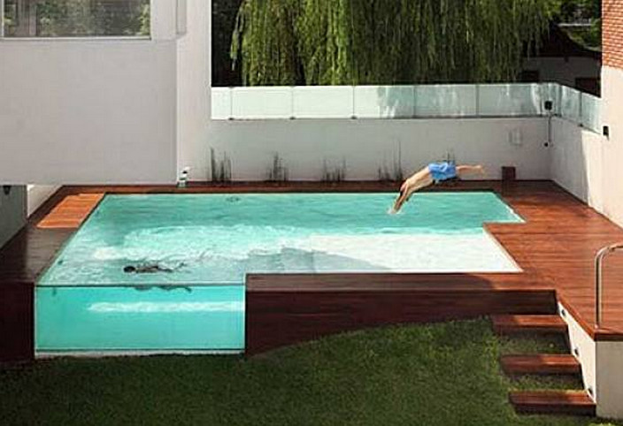 Above Ground Pool With Deck Ideas Pool Design Ideas: above ground pool patio ideas