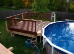 Above Ground Pools Deck Designs