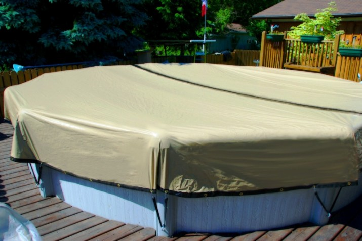 Above Ground Swimming Pool Winter Covers