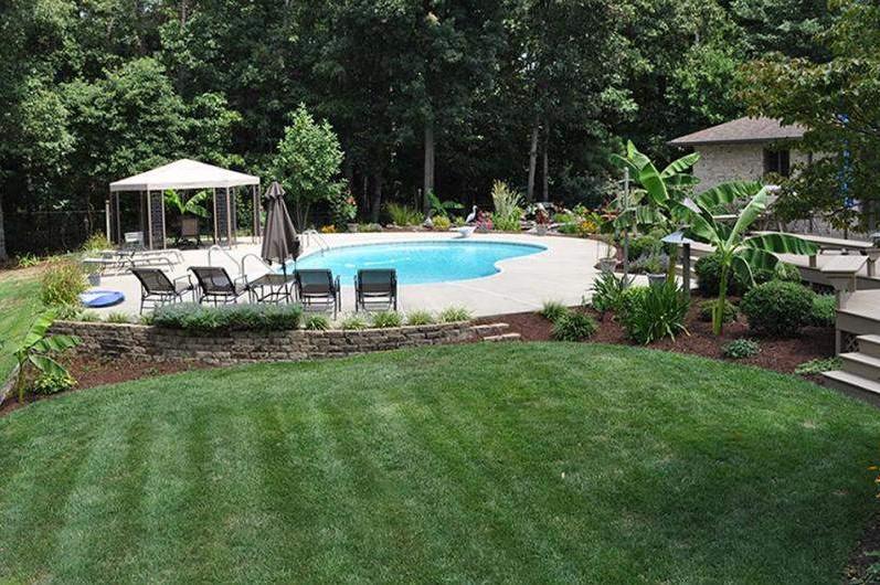 Backyard Design Ideas With Pool