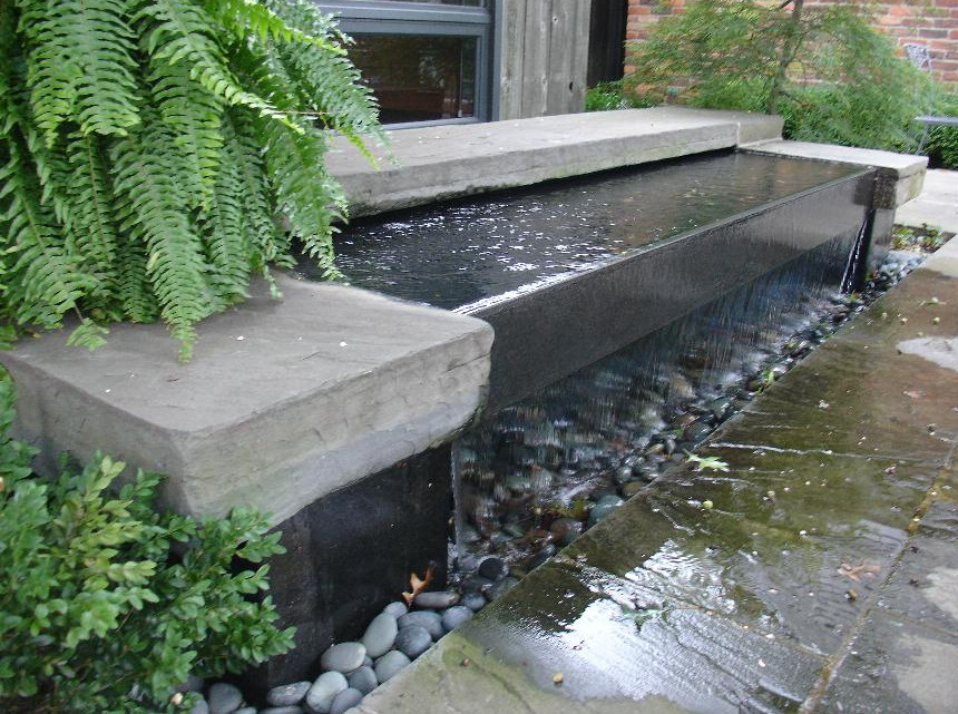 Backyard water features pictures pool design ideas for Small backyard water features