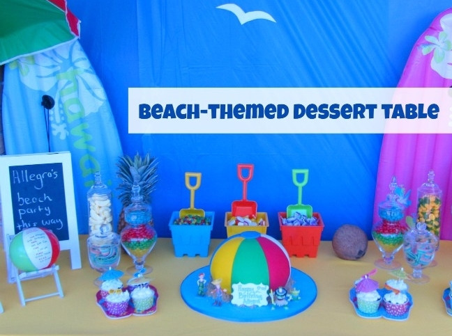 Beach Themed Pool Party Ideas