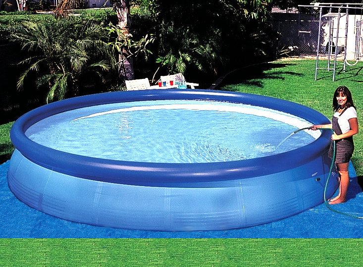 Big Inflatable Pools Pool Design Ideas