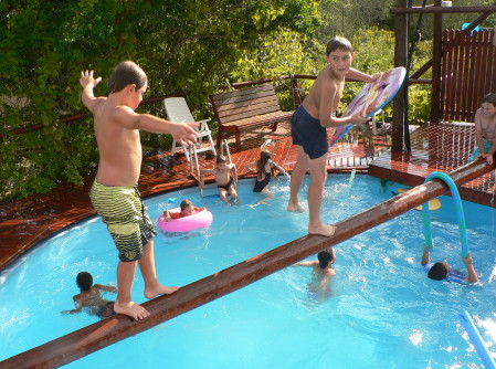 Birthday Party Pool Games