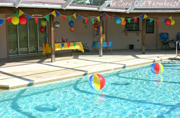 Birthday Party Pool Ideas