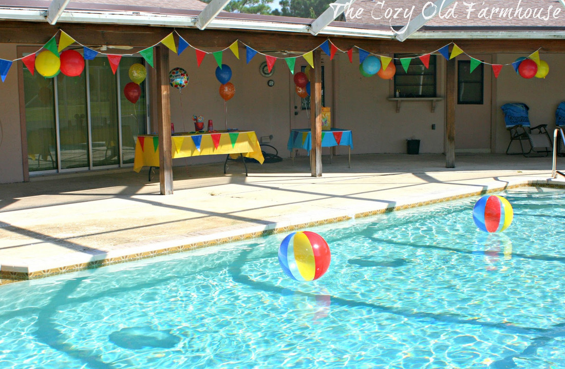 Birthday Party Pool Ideas