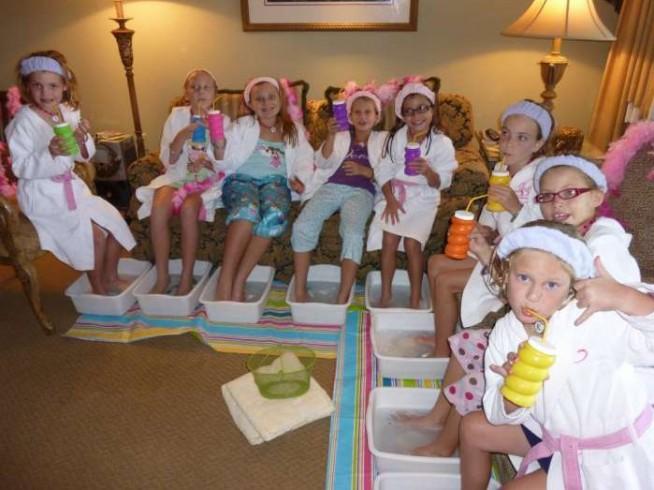 Birthday Spa Party Ideas