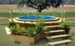 Clearance Above Ground Swimming Pools