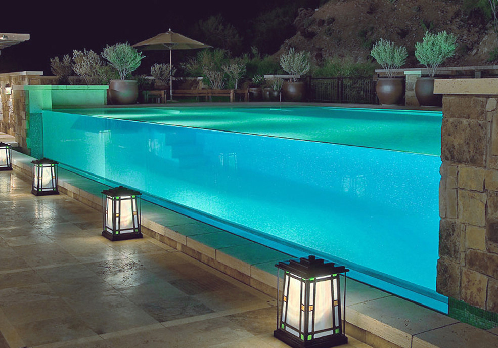 Top five cool pool designs for different types of spaces for Unique swimming pool designs
