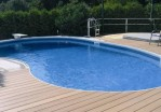 Deck for Above Ground Swimming Pool
