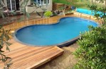 Decking Ideas for Above Ground Pools
