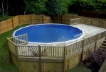 Decks for Above Ground Swimming Pools
