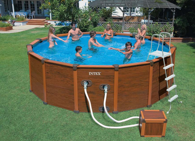 Deep Above Ground Swimming Pools