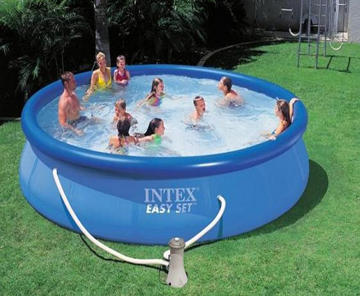 Deep inflatable pool pool design ideas for Inflatable above ground pools
