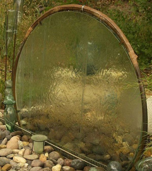 Diy water garden ideas photograph backyard water feature i Home made water feature