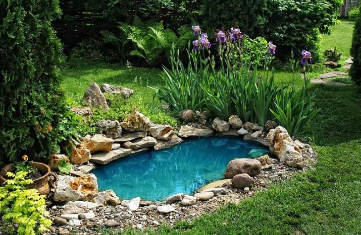 Fiberglass Garden Ponds