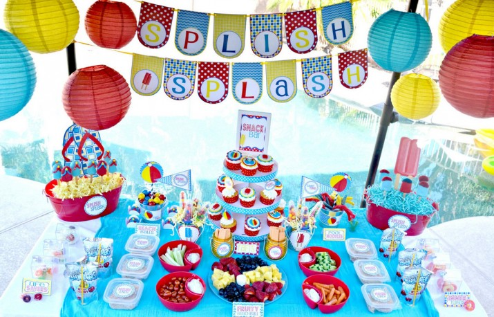 First Birthday Pool Party Ideas