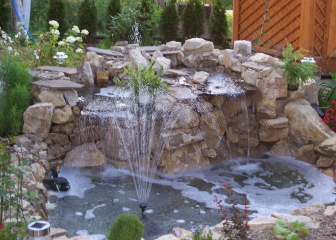Fountain Landscaping Ideas