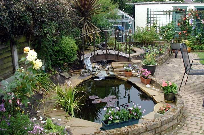 garden pond construction and design pool design ideas