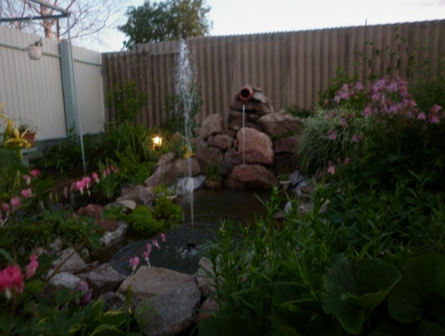 Garden Ponds With Waterfalls Pictures