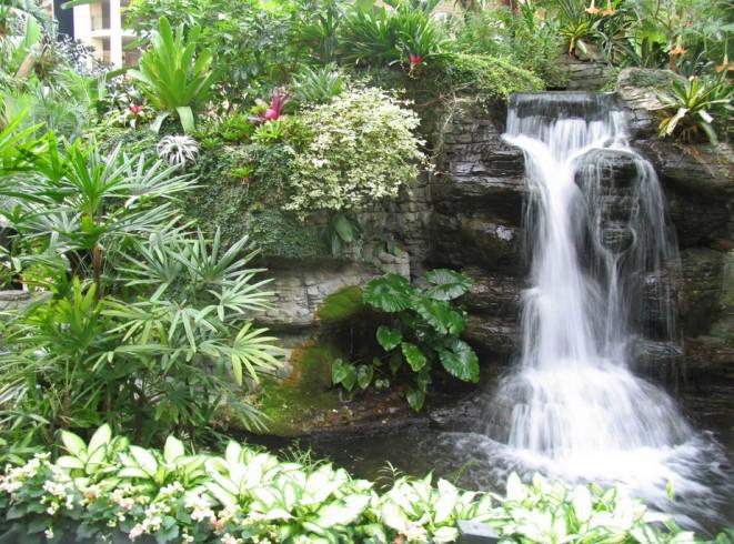 Garden Waterfalls Pictures