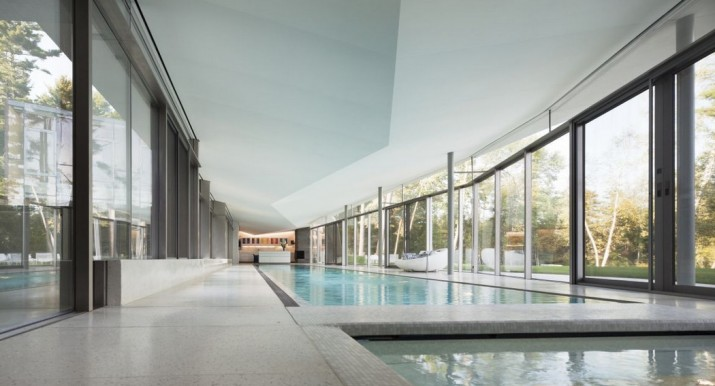 Home Design With Indoor Swimming Pool
