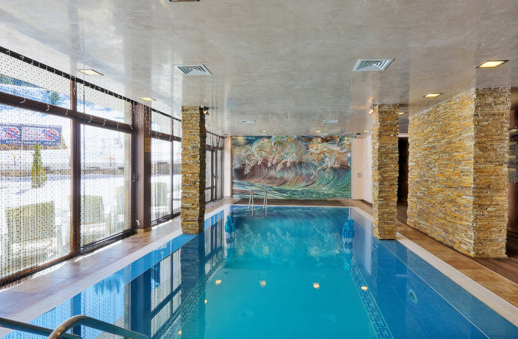 Home Plans With Indoor Swimming Pools