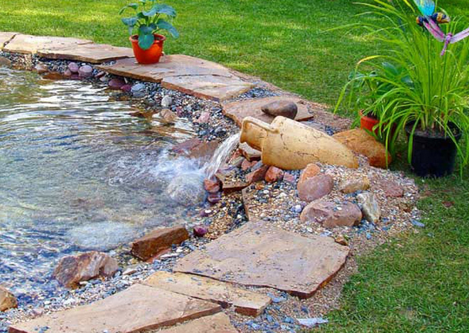 Home Waterfalls Ponds