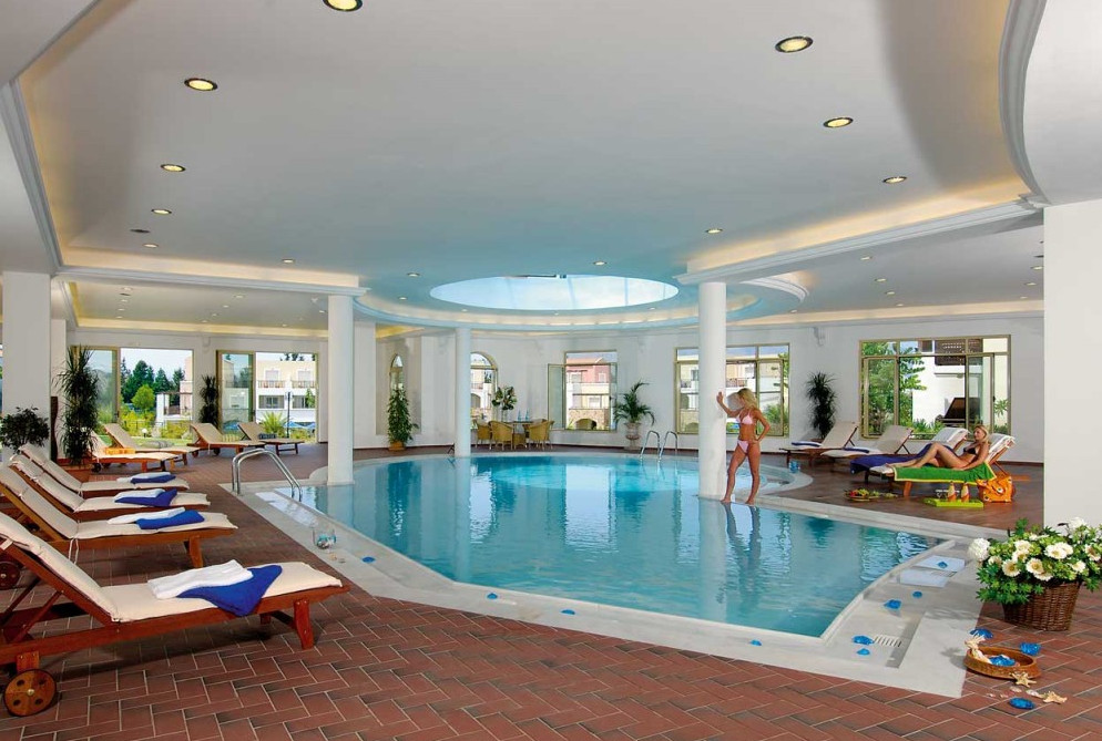House With Indoor Swimming Pool
