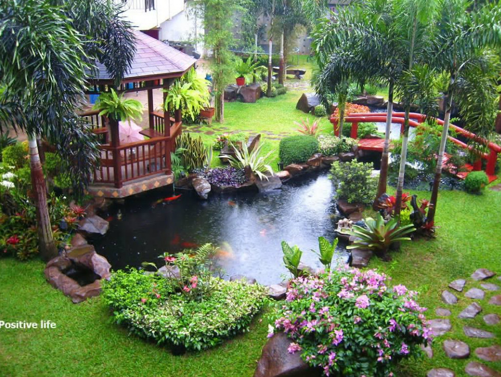 How to Make a Garden Pond and Waterfall