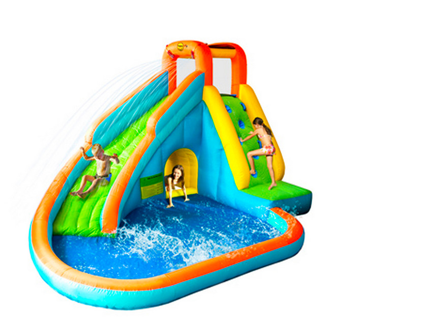 inflatable swimming pool with slide for kids pool design ideas