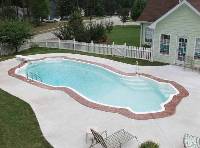 Inground Swimming Pools Pictures