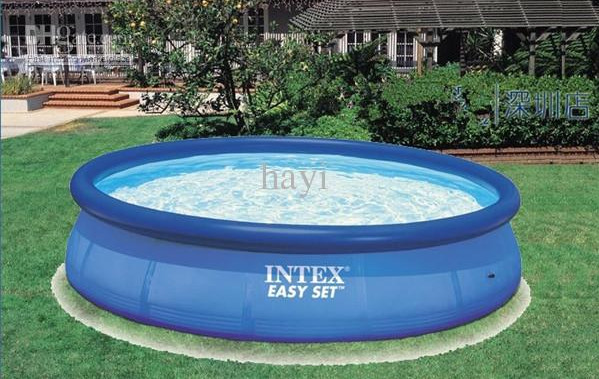 Intex portable swimming pools pool design ideas for Portable pool