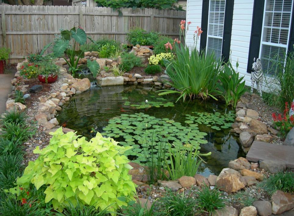 Landscape Ponds Ideas | Pool Design Ideas on Small Pond Landscaping Ideas id=58237