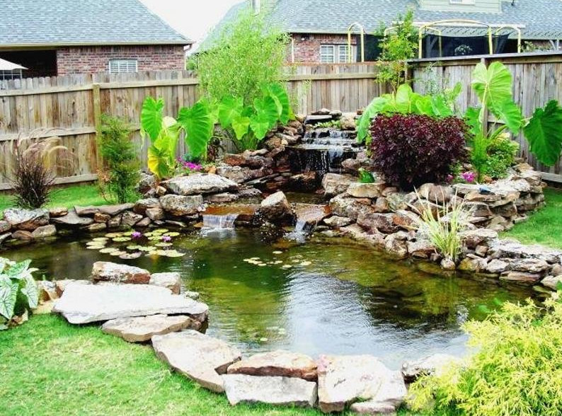 Landscape Water Features Waterfalls
