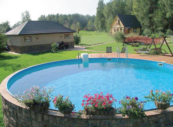 Large Above Ground Swimming Pools