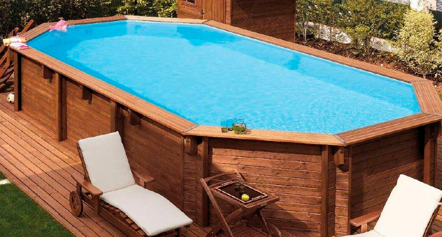 Large oval above ground pools pool design ideas for Large above ground swimming pools