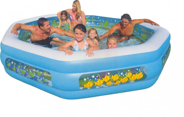 Home pool design ideas part 3 for Best rated inflatable swimming pool
