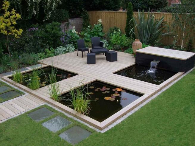 Modern Fish Pond Ideas