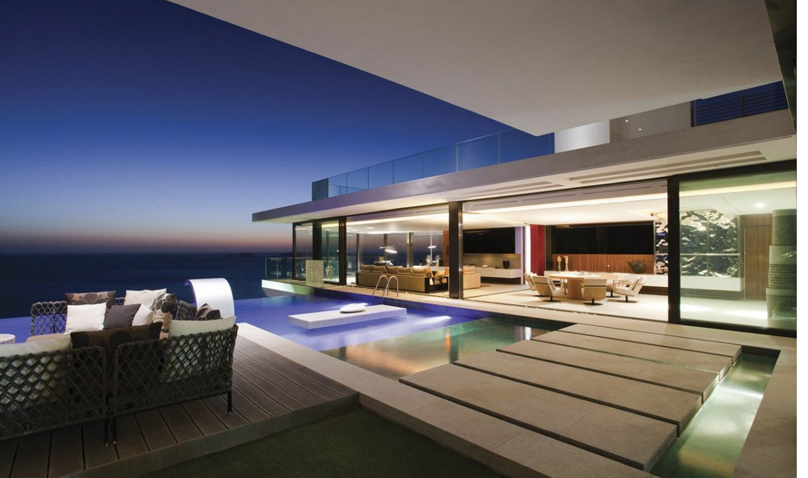 Modern Pool House Designs
