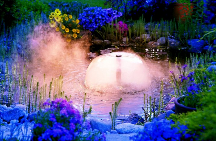 Outdoor Pond Fountains
