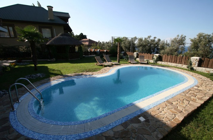 Pictures of Swimming Pools in Backyards