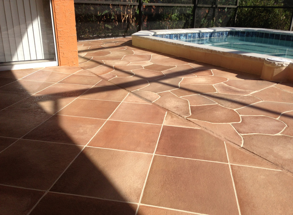 Pool Deck Tile Design Ideas